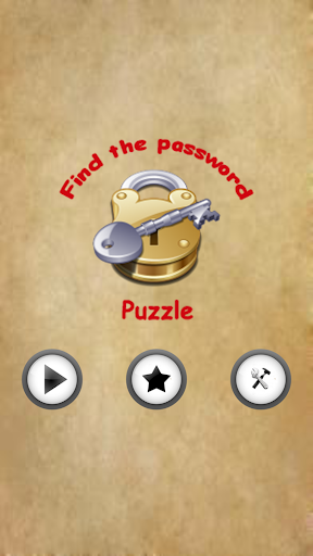 Find The Password Puzzle
