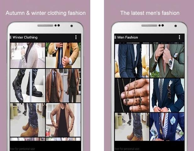 android Men Fashion 2016 Screenshot 3