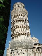 Photo: Tour (début construction 1173, 54 m de haut)