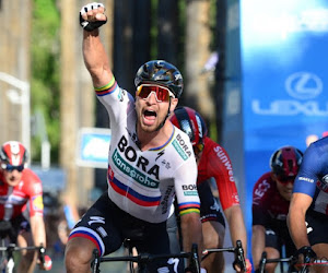 Peter Sagan spoelt teleurstellend voorjaar door in openingsrit Ronde van Californië