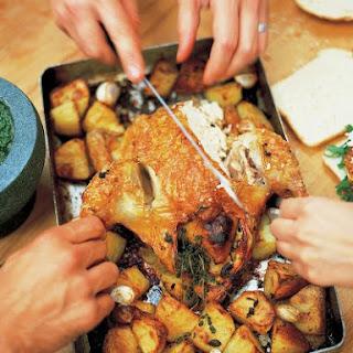 Jamie Oliver's Roast Chicken.