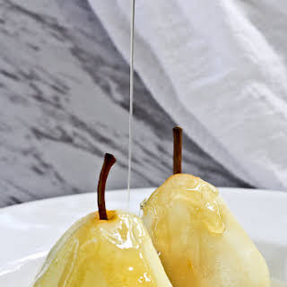 Poached Pears with Cardamom.