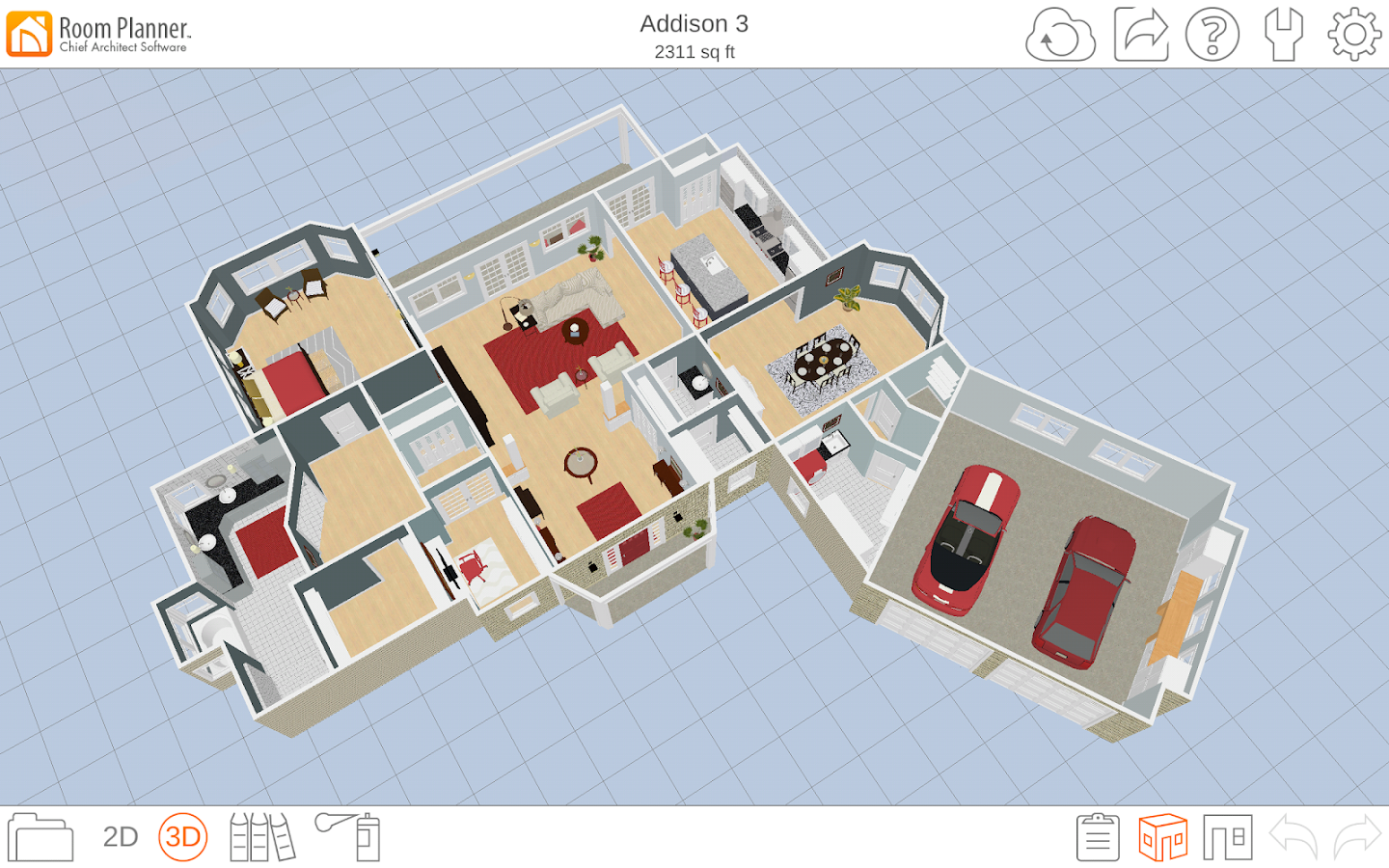 Room planner le home design android apps on google play for Make room planner