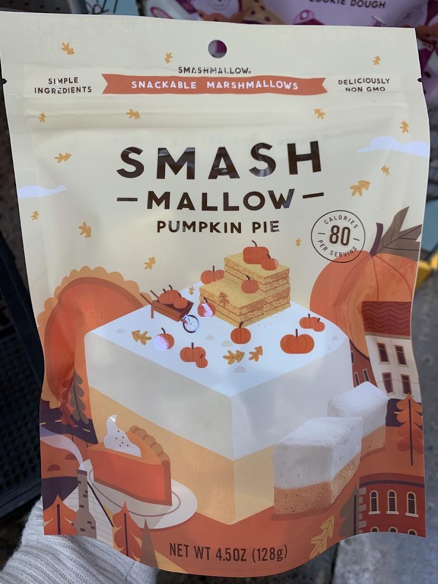 Punpkin Pie Snackable Marshmallows