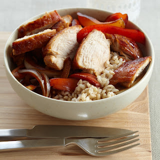 Ginger-Marinated Chicken with Onions and Peppers