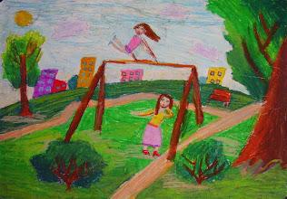 Photo: Барышева Илана. 8 лет. Студ. Т. Белоконенко. Израиль. г. Хайфа