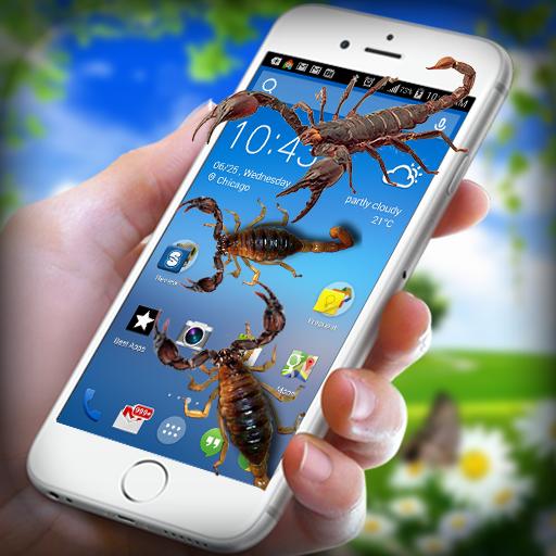 Scorpio on Screen - Scorpio in Phone Funny Joke