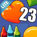 Coloring Book 23 Lite: Count icon