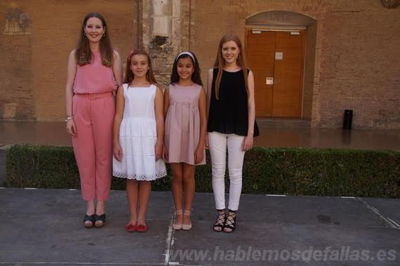 "Entrevistas a Candidatas infantiles a Cortes de Honor. Russafa ""B"". #Elecció19"
