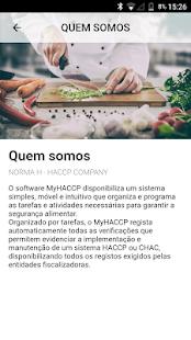 MyHACCP - náhled