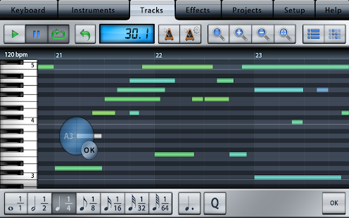 Music Studio Lite Screenshot