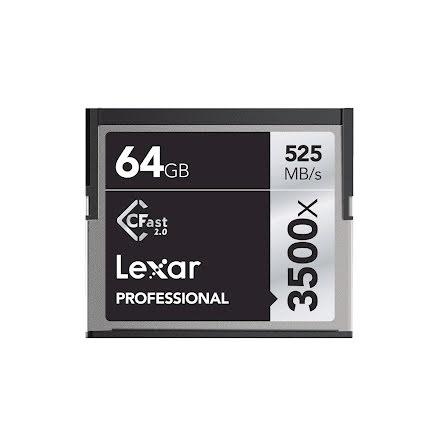 Lexar Professional 3500X CFAST 2.0 64GB