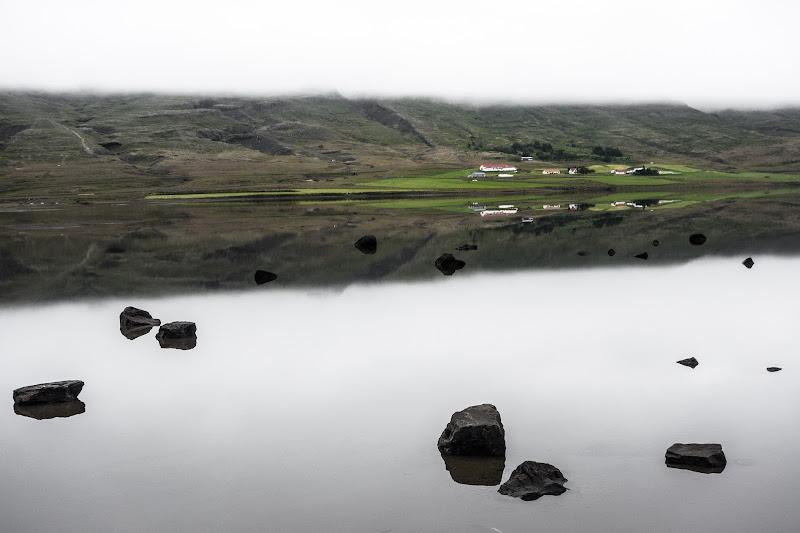 La nebbia che si specchia sull'acqua di ilariucci