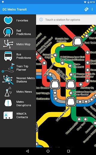 DC Metro Transit Info - Free screenshot 19