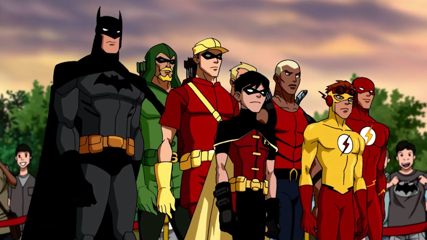 Watch Young Justice: Outsiders live