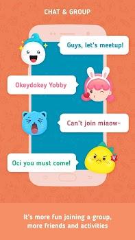 Yogrt: Meet Friends Nearby