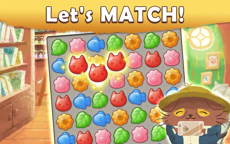 Cats Atelier -  A Meow Match 3 Game Screenshot 1