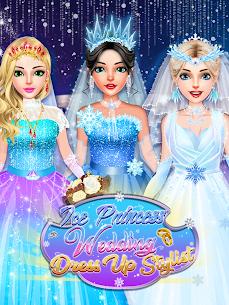 Ice Princess Wedding Dress Up Stylist 1