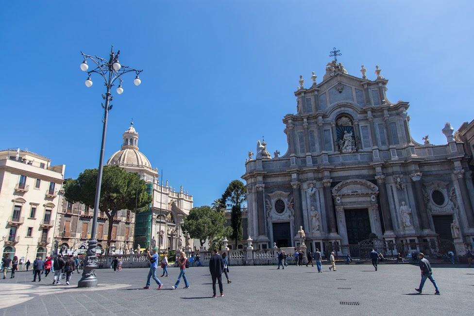 Katania, Piazza Duomo, katedraśw. Agaty