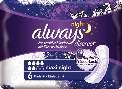 Crowleys Pharmacy - Always Discreet Incontinence Pads - Maxi
