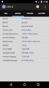 CPU-Z Premium 1.33 Mod Apk Download 2