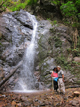 Photo: Us at the waterfall
