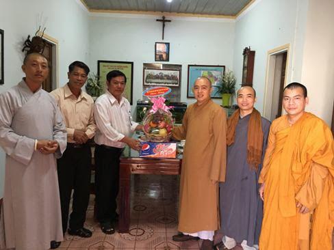 Ban Trị sự GHPGVN Huyện Cư Mgar chúc mừng Giáng Sinh