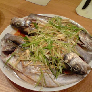 Steamed Sea Bass.