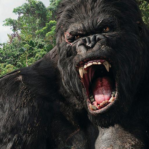 Mad Gorilla Simulator : Hunter
