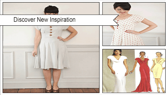 Elegant Long Dress Sewing Patterns - náhled