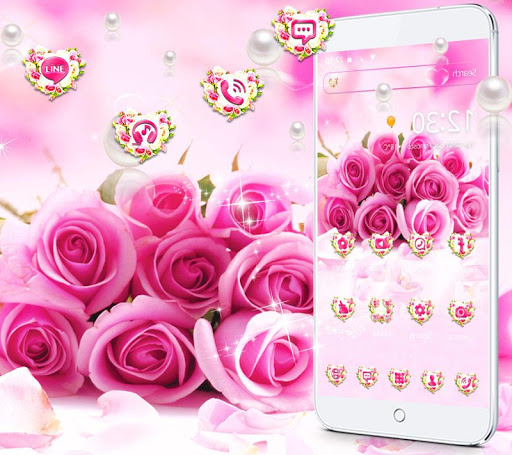 Download Pink Rose Romantic Love Theme On Pc Mac With Appkiwi
