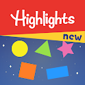 Highlights Shapes – Shape Sorting & Color Mixing icon
