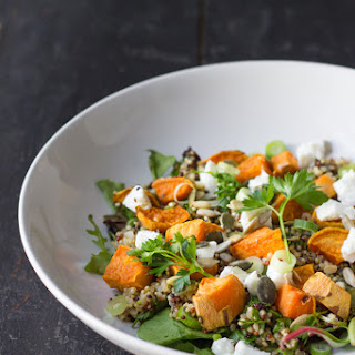 Sweet Potato & Quinoa Salad with Goat Cheese