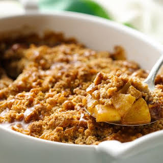 Caramel Apple Oatmeal Crisp.