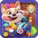 Magic Puppy : CUBE RUSH BLAST GAMES 2019 icon
