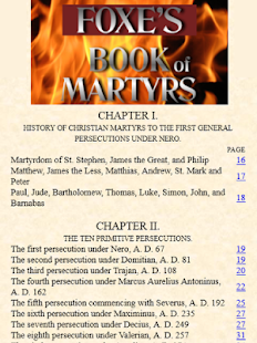 Foxe's Book of Martyrs- screenshot thumbnail