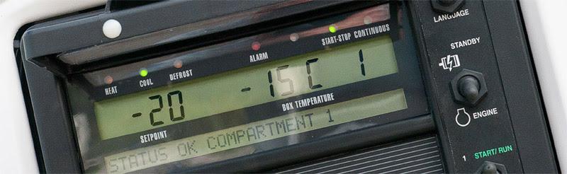 Дистанционный термометр для рефрижераторных перевозок