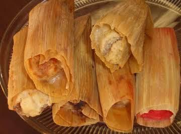 Chicken Mole Tamales