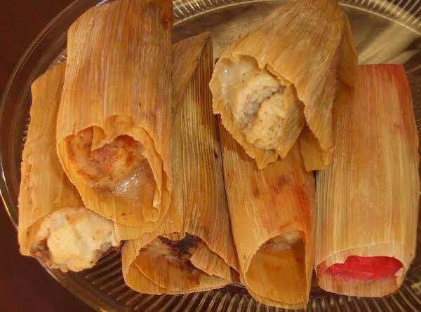 Chicken Mole Tamales Recipe