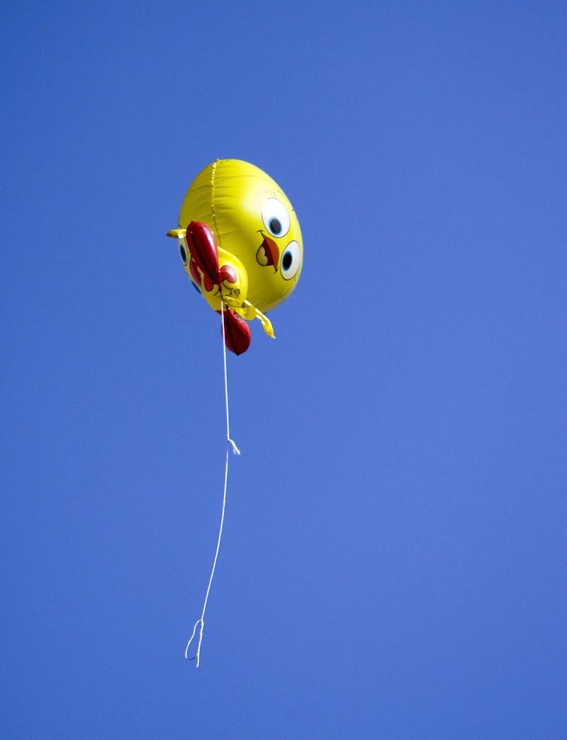 Il palloncino vola via di Livius