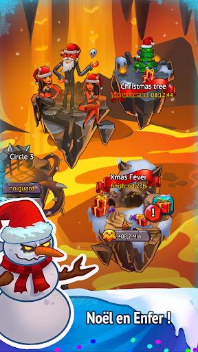 Code Triche Idle Evil Clicker: jeu de Noël  APK MOD (Astuce) screenshots 2
