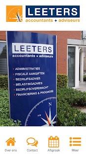 Leeters Accountants - náhled