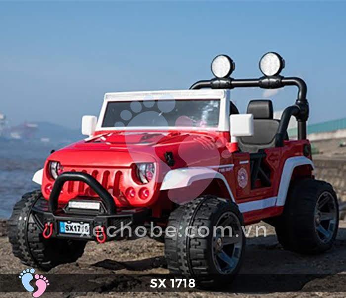 Xe ô tô điện trẻ em Jeep SX-1718 4