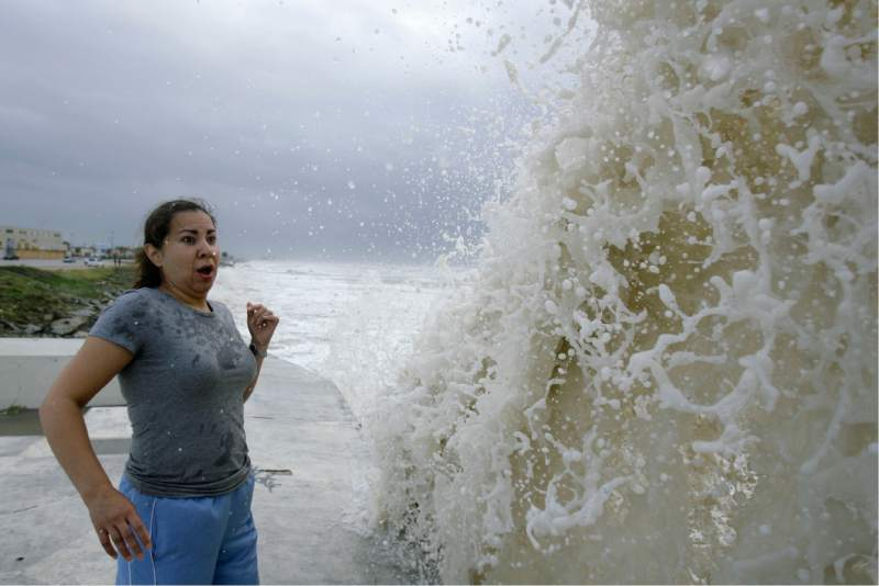 Woman vs Wave