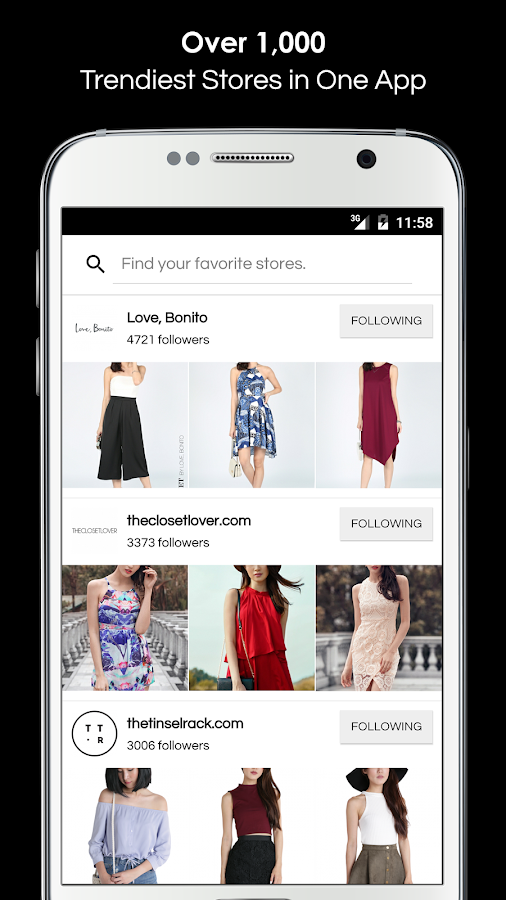ShopperBoard: Fashion Shopping- screenshot