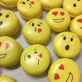 emoji macarons by Sigurveig  Karadottir - Food & Drink Cooking & Baking