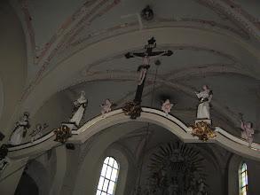 Photo: Belka tęczowa ze sceną ukrzyżowania