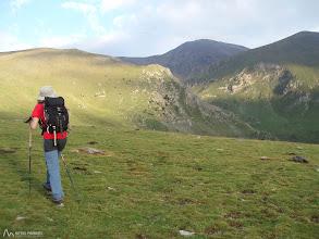 Photo: La cumbre del Puigmal ya se observa antes de empezar a andar desde Fontalba, por lo cual el itinerario es bastante sencillo de identificar.