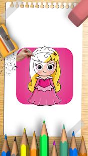 How draw disney princess - náhled