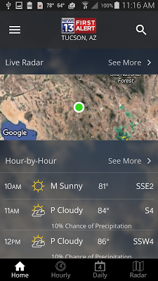 TucsonNewsNow Weather Now - screenshot